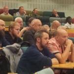 Intresset hos publiken gick inte att ta miste på. Foto: Bengt Sandström