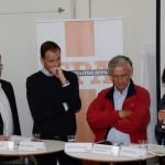 Försvarsforum svarade för ett seminarie om försvarsberedningens rapport med deltagande av Peter Hultqvist (s), Allan Widman (Fp) samt Karlis Neretnieks och Annika Nordgren Christensen från Krigsvetenskapsakademien. Foto:Per Klingvall