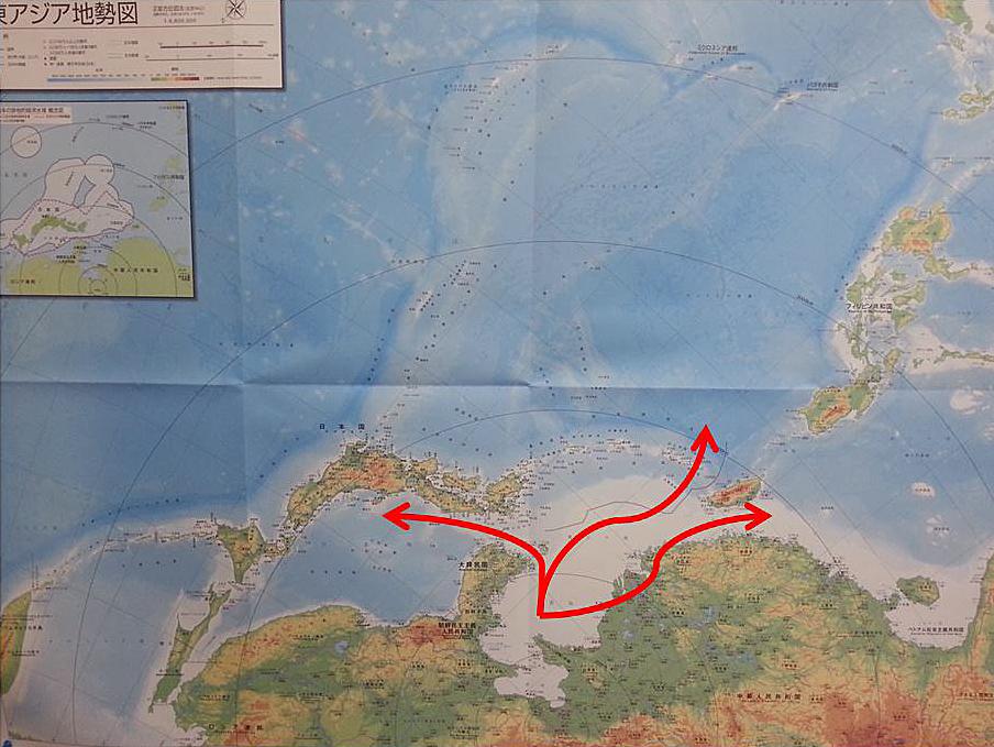 Kinas behov av fria sjötransportförbindelser.