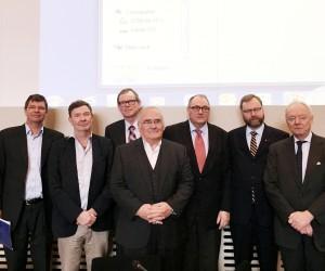 Fr vr Nils Wang, Krister Bringeus, Bo Waldemarsson, Sam B Gardiner, Rolf Tamnes, Niklas Granholm, Mats Bergquist