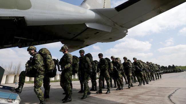 Nato-övning. Foto: Petr David Josek