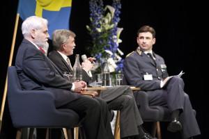 Seminariediskussion vid Natokonferens där Sverige var värdnation. Foto: Anton Thorstensson, Försvarsmakten.