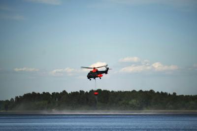 Försvarsmakten har viktiga resurser som kan sättas in vid en storbrand eller annan katastrof. Foto: Jimmy Croona / Combat Camera / Försvarsmakten