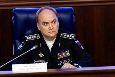 Biträdande försvarsminister, armégeneral Anatolij Antonov.