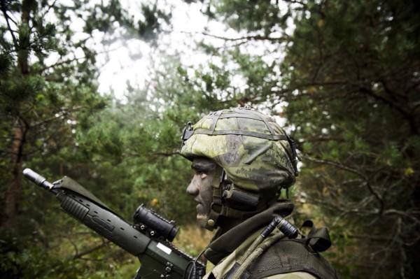 Värnplikten är inte helt okontroversiell. Foto: Combat camera/Försvarsmakten