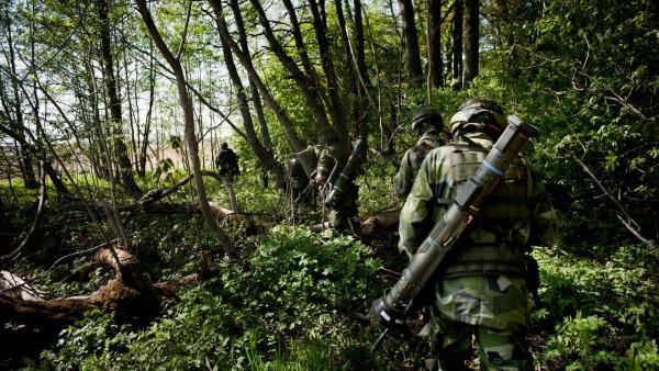 Författaren framför ett antal argument mot återinförandet av värnplikt. Foto: Jimmy Croona, Försvarsmakten.