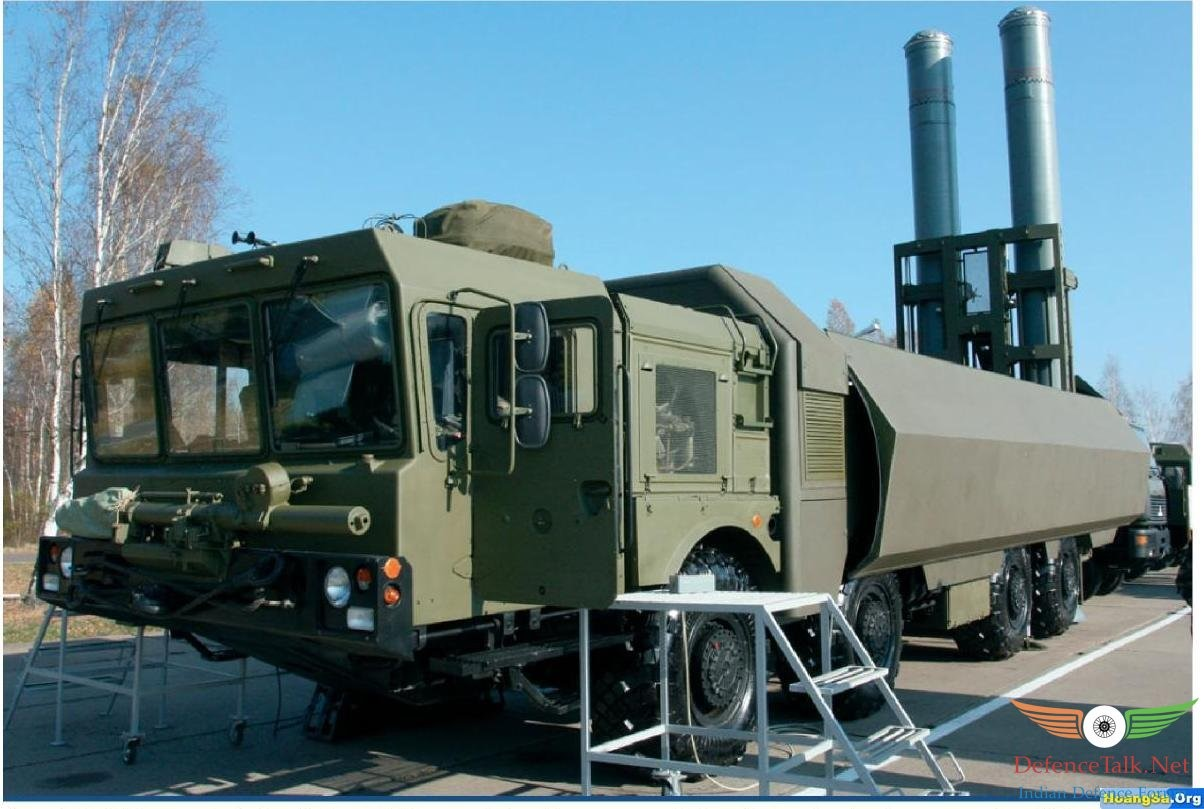 Bastion-P launcher. (Source: http://defencetalk.net/attachments/1-jpg.14577/). The launch tube is 8.9 meters long, big enough to accommodate Kalibr-NK cruise missiles.