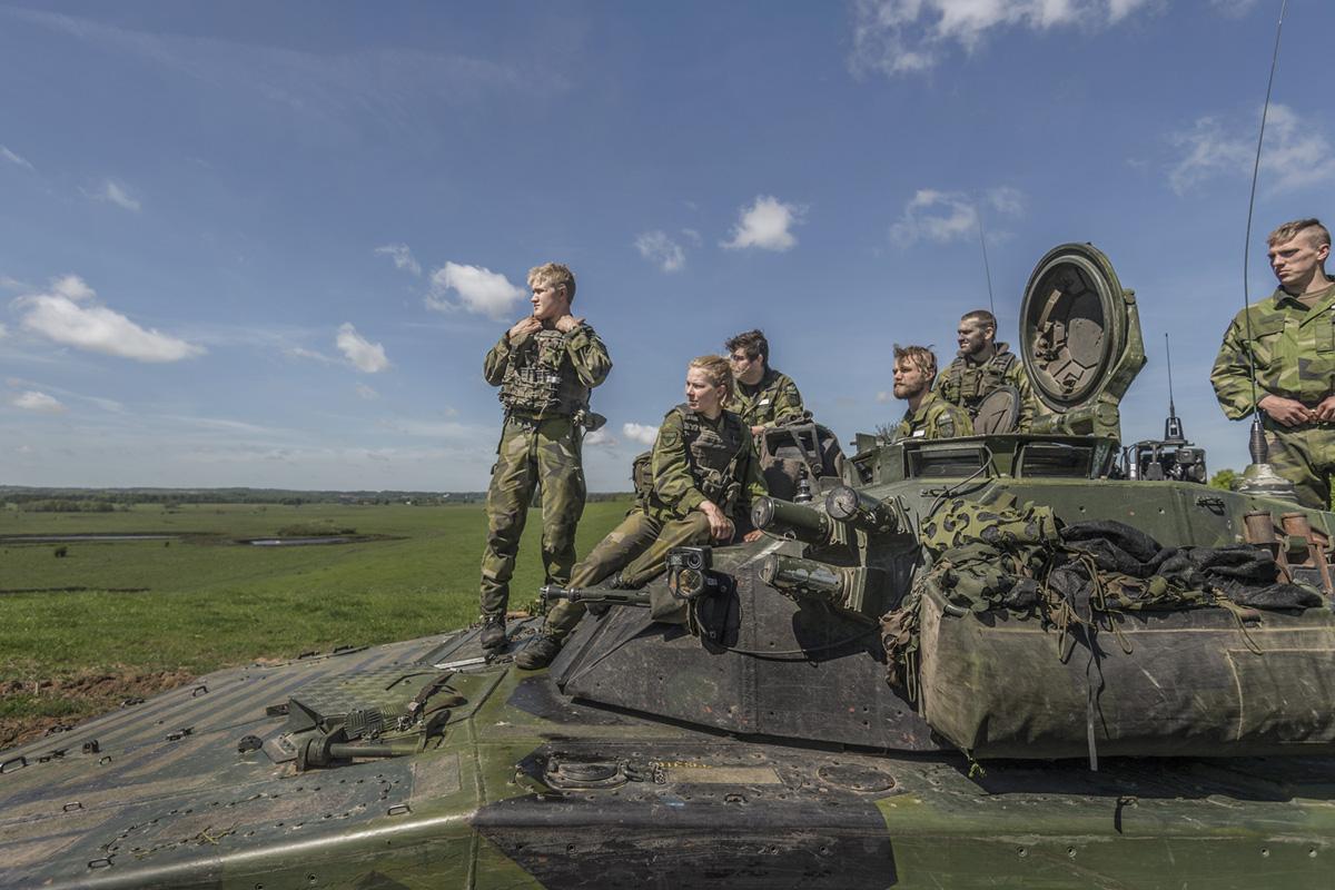 Samarbete, ledarskap, laganda ger en vidare samhällsnytta!Foto: Bezaw Mahmod, Försvarsmakten.