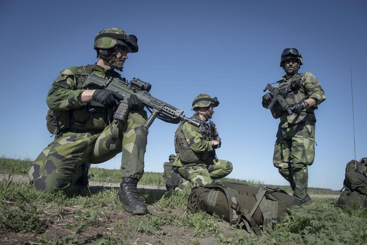 Mass/ numbers is not an obsolete factor in todays wars.Foto: Joel Thungren, Försvarsmakten/ Combat Camera.