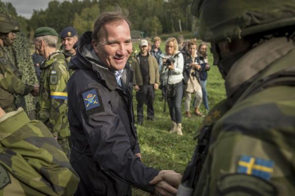 Oaktat publiciteten kring övning Aurora är försvarsförmågan otillräcklig. Foto: Marcus Åhlén, Försvarsmakten.