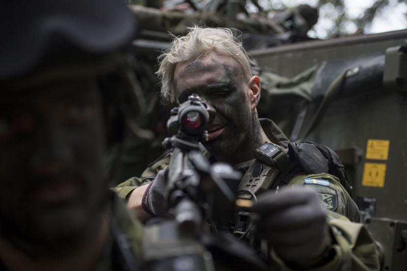 Foto: Joel Thungren / Försvarsmakten / Combat Camera