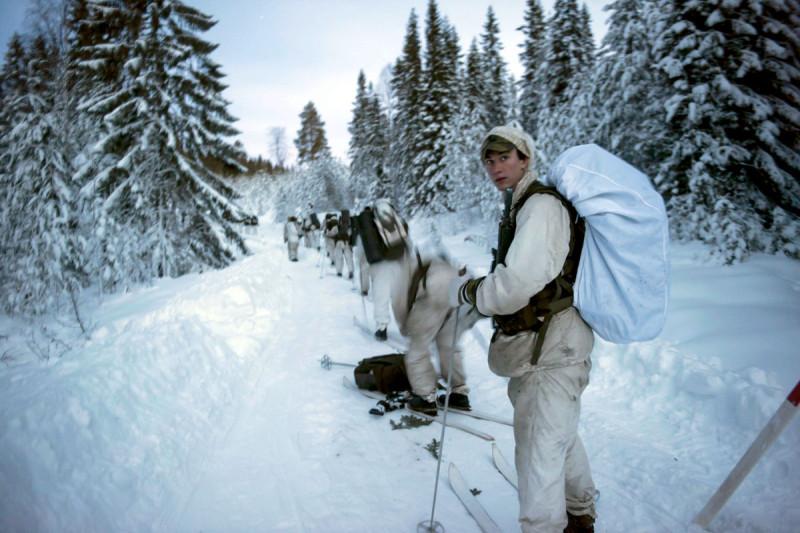 Vintervana förband behövs i norra Sverige när Arktis och Nordområdets strategiska betydelse ökar. Foto: Niclas Ehlén Försvarsmakten.
