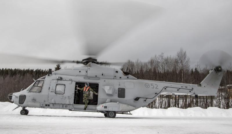 Ett projekt som kan ifrågasättas enligt Hans Lindblad. Foto: Jesper Lundström, Försvarsmakten.