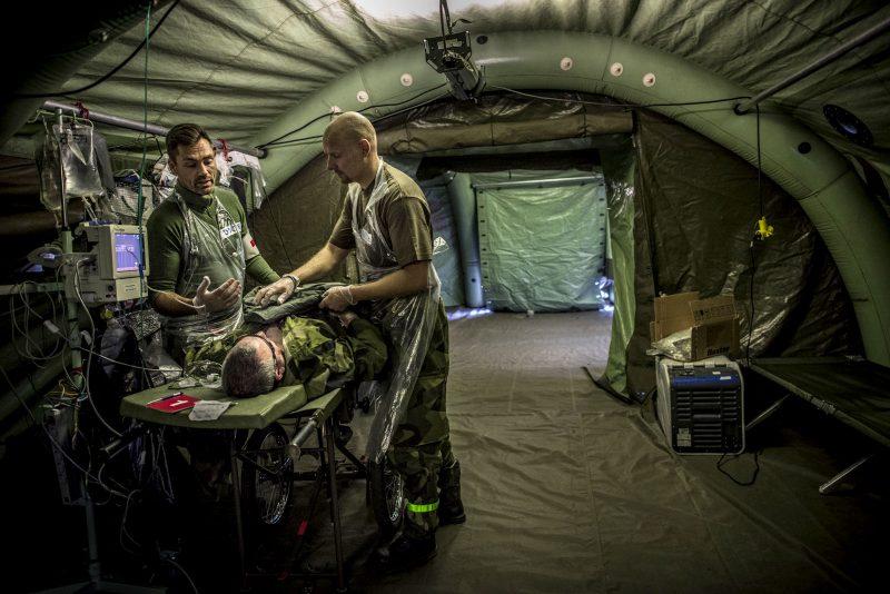 Sjukvårdstjänsten är en helt kritisk nyckelresurs. Foto: Bezav Mahmod