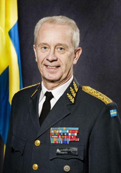 Sverker Göranson. Foto: Jimmy Croona/Combat Camera/Försvarsmakten