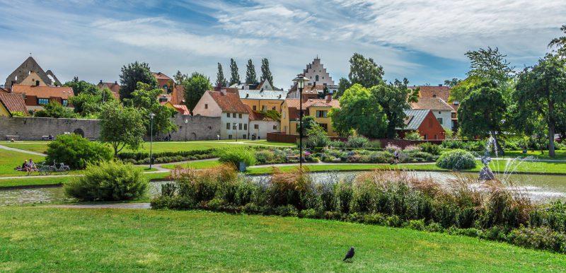 Almedalen, Visby. Foto: Nadezhda Kharitonova, Shutterstock.com