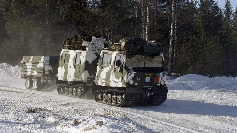 Författaren hävdar behovet av ett lättrörligt, bandvagnsburet, norrlandsinfanteri. Foto: Michael Berggren, Försvarsmakten.