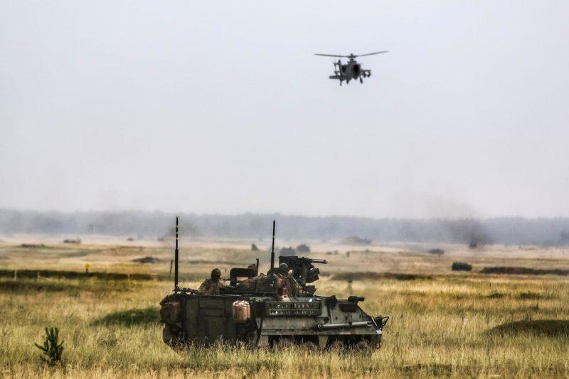 Hur hållfasta är i realiteten USA:s försvarsförpliktelser gentemot sina europeiska allierade med president Trump vid rodret? Foto: U S Army photo by Hubert D Delany III.