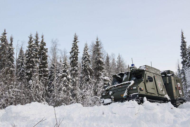 Foto: Daniel Klintholm, Försvarsmakten.