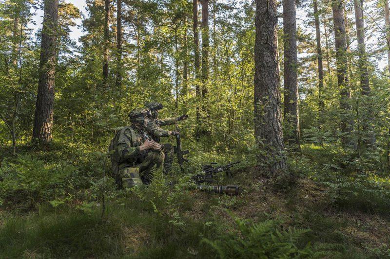 Moderna jägarförband ställer krav på en utrerad uppdragstaktik.  Foto: Bezav Mahmod, Försvarsmakten.