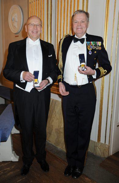 Hans-Göran Olsson och Erik Prisell. Foto: Cia Liljeton