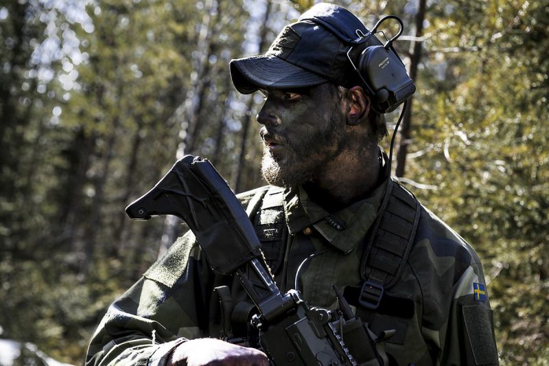 Foto: Astrid Amtén Skage, Försvarsmakten.