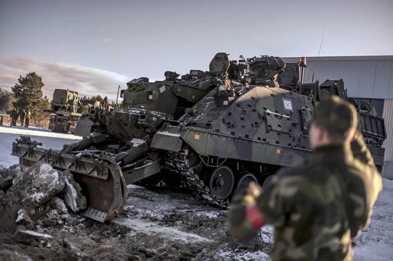 Behovet av ingenjörsresurser är stort för norrlandsförbanden. Foto: Jimmy Croona, Försvarsmakten.