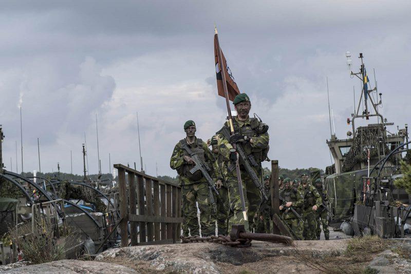 Ledning av förband är kärnan i officersprofessionen. Foto: Mats Nyström, Försvarsmakten.