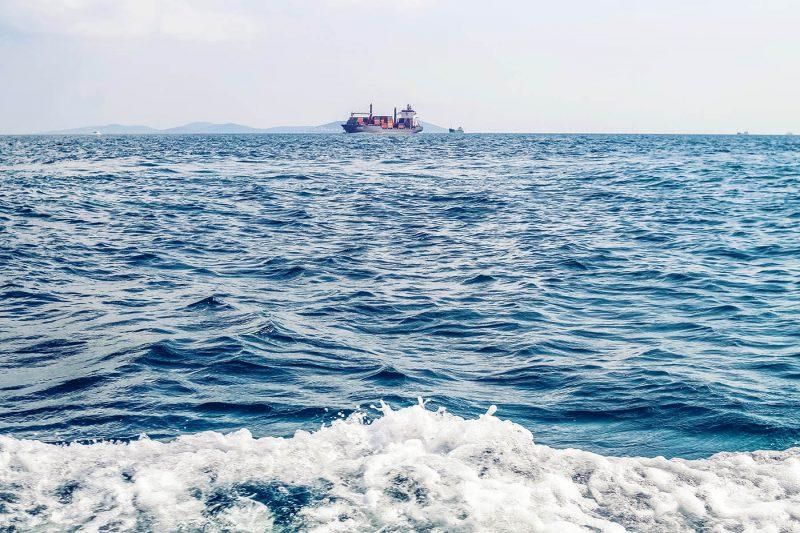 Havet är vår viktigaste transportled och därmed livlina. Foto Shutterstock.com