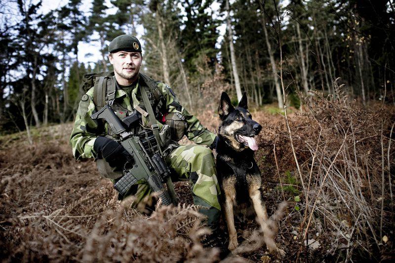 Författaren ser jägarförbanden som en viktig del i ett framtida markstridskoncept. Foto: Johan Lundahl Combat Camera, Försvarsmakten.