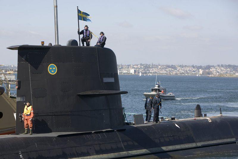 Sverige är enligt författaren på väg att återskapa Kustflottan. Foto: Anders Sjödén, Försvarsmakten.
