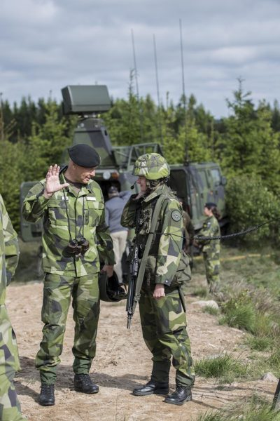 Tillit är avgörande för framgång. Foto: Mats Nyström, Försvarsmakten