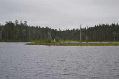 A view of Russia from Finland. Russia has much the same terrain as Sweden.