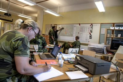 Flexibility is key to success. Foto: Mats Nyström, Försvarsmakten.