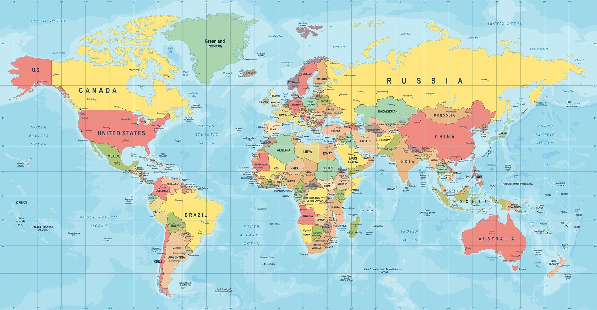 En värld i gungning. Foto: Shutterstock.com