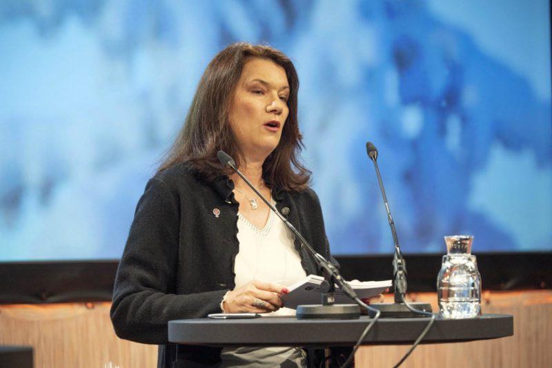 Utrikesminister Ann Linde. Foto: Ulf Palm.