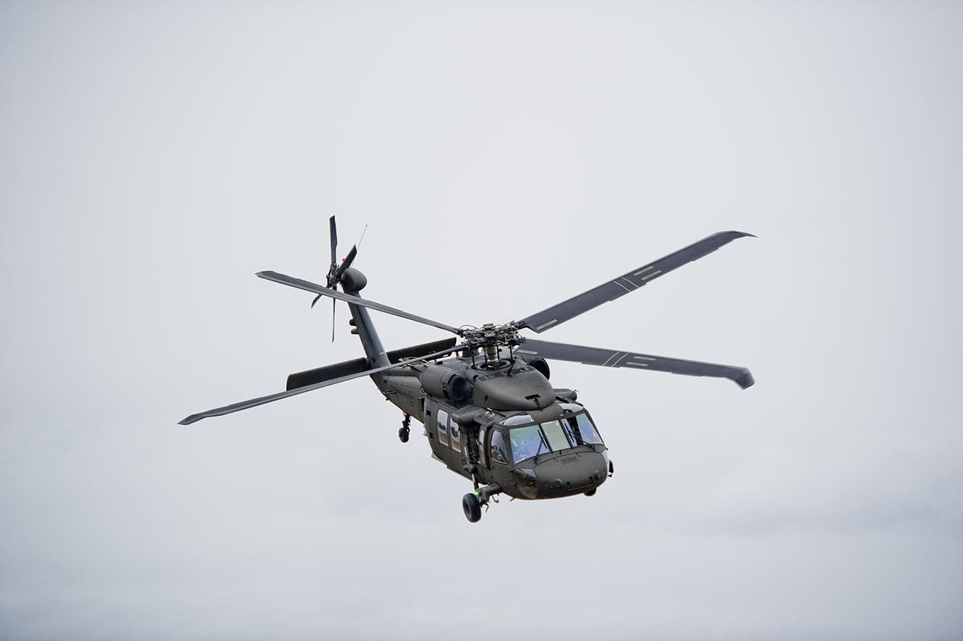 Helikoptrar är en lösning för att säkerställa jägarförbandens behov av operativ rörlighet. Foto: Försvarsmakten.
