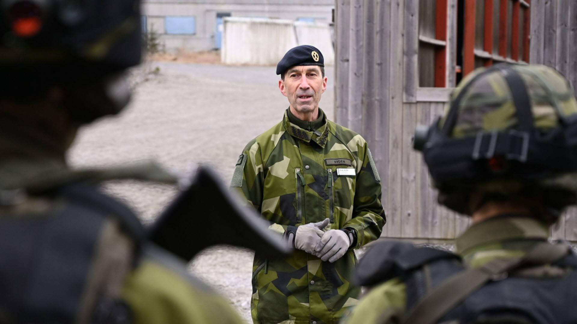 Foto: Svante Rinalder/ Försvarsmakten